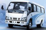 Caminhão novo da caixa de Isuzu com o chassi 100p