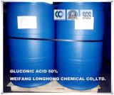 Acide gluconique de l'additif alimentaire 50%