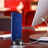 Carrinho do berço do carregador da doca da sincronização do carregador com cabo do USB para a borda da galáxia S7/S7 de Samsung, S6/S6 borda, S5, nota 5/4, Huawei P8 P9