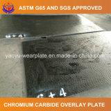 Placa abrasiva del desgaste del carburo del cromo
