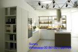 2017の新しいフォーシャンZhihua木MFC MDFの合板のアクリルの食器棚デザイン