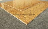 金カラーBulattiの二重ローディングの建築材料の磨かれた磁器の床タイル