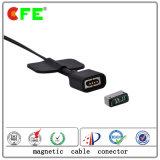 connettore magnetico 4pin per il collegamento del segnale e di potere in computer portatile