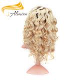 Pleines perruques de lacet du meilleur long cheveu chinois de Vierge
