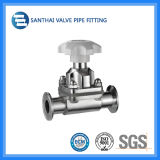 Clamped端のSanthai Manual Diaphragm Valve