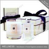 El regalo de bambú del incienso de Aromatherapy fija velas perfumadas