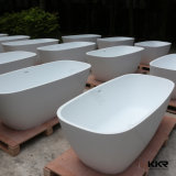 Vasca di bagno sanitaria di superficie solida della pietra della resina degli articoli