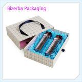 絹のハンドルが付いている専門のボール紙のペーパー・キャリアボックス