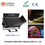 350W 112PCS RGBW LED 플러드 빛