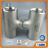 T trasversale degli ss, accessori per tubi trasversali, traversa della saldatura testa a testa, T dell'acciaio inossidabile (KT0349)