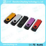 Flash-Speicher der Gerät-Geschenk-multi Farben-Torsion-8GB mit kundenspezifischem Firmenzeichen (ZYF1814)