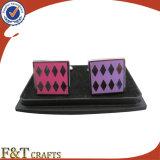 As vendas quentes Dofferent do estilo novo colorem o botão de punho do metal/fabricante do botão de punho