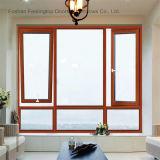 에너지 효과 디자인 경사와 회전 알루미늄 여닫이 창 Windows (FT-W80)