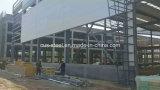 Entrepôt préfabriqué de structure métallique de grande envergure d'atelier de modèle en acier léger de construction