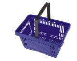 Panier à provisions en plastique