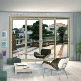 Perfil de aluminio de la ventana y de la puerta de desplazamiento del estándar europeo (FT-D80/126)