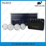 8W weg vom Rasterfeld-Solar Energy System mit 4PCS LED Birnen