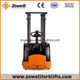 Zowell apilador eléctrico del alcance de 1.5 toneladas con altura de elevación
