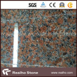Lastra rossa del granito dell'acero Polished G562 per Counntertops e le scale