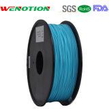 couleur transparente de filament d'ABS de l'imprimeur 3D de 1.75mm
