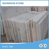 Guangxi weiße Marmorplatten für Wand und Bodenbelag