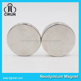 Magnete rotondo del neodimio di NdFeB del disco placcato zinco