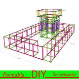 モジュラーアルミニウム表示システムは木展覧会ブースを取り替える