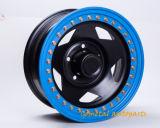 para o tamanho de aço 15X10 da roda de Beadlock do uso do carro 4X4
