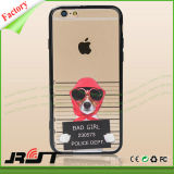 Изготовленный на заказ симпатичные собаки напечатали iPhone аргументы за задней стороны обложки PC TPU