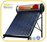Het compacte Systeem van de Verwarmer van het Water van de Pijp van de Hitte van de Druk Zonne