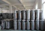 Vendedores calientes al aire libre Cubo de la basura de plástico con madera (HW-102)