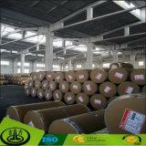 Papel decorativo de melamina de grano de madera con calidad estable
