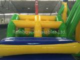 水遊園地の普及したスポーツのゲーム膨脹可能な水障害物コース(RB32022)