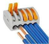 Conducteur compact universel de Pin du connecteur 2 de câblage de fil de Wago 222-412
