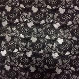 Tela de encaje de algodón francés (6211)