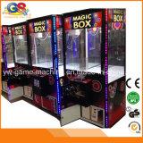 Máquina de juego mágica de arcada de la máquina de la grúa del juguete de la grúa de la garra del rectángulo