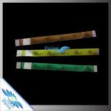 Wristband de papel material de Tyvek de la talla adulta profesional al por mayor