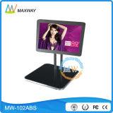Mesa visualización del LCD de 10 pulgadas para las ventas al por menor que hacen publicidad (MW-102ABS)