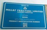 machine de fibre optique d'inscription du laser 3D pour le plastique d'acier en métal
