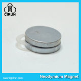 N50 sinterde de Zeldzame aarde de Permanente Magneet van NdFeB van de Schijf