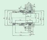 단 하나 끝 (HB7)를 위한 수도 펌프 기계적 밀봉
