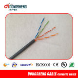 câble LAN 24AWG solide Cat5e CCA