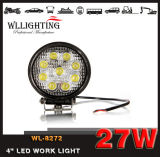 """barra ligera 27W LED del trabajo redondo del coche de 4 """" para Truck/SUV/ATV Wl-8272 (Llevar-trabajar la luz)"""