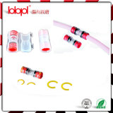 Direct installer le rouge transparent de Coupler12/8mm