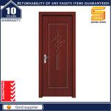Porte en bois en bois solide de portes de forces de défense principale de bel intérieur