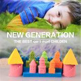 Alter Schloss-Playset-Kinetischer Sand-scherzt magischer Bewegungs-Spiel-Sand von DIY Spielzeug Educatiuonal Spielwaren