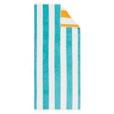 Tovagliolo di spiaggia puro superiore di disegno della banda del cotone