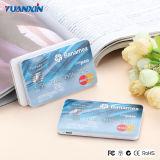 крен силы кредитной карточки батареи 2500mAh Li-иона 18650 передвижной с RoHS