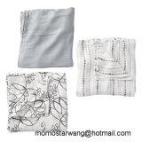 100% algodón muselina bebé swaddle manta cubierta de enfermería con alta calidad