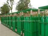 50L cilindro de gás do aço sem emenda do oxigênio 150bar/200bar com ISO de ASME